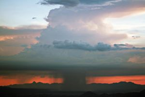 Storm Over Tucson, AZ 7-6-2014 by RayM0506