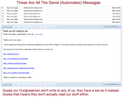 Our Elected CongressBots by anoncru
