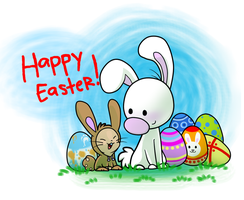 Happy Easter!!! by DoddleFur