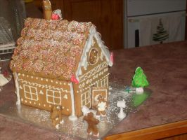 Gingerbread House (11) by jess13795