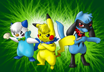 Mystery Dungeon Request by nin10do-gamer
