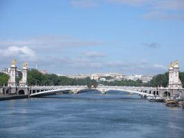 Alexander III Bridge in Paris by rlkitterman