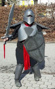 Fasching 2017 The Knight by killermedic