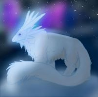 Snow Animal by TheCookylee