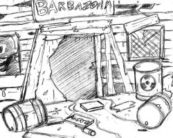 Background Sketch 02 by FalloutCat