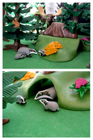 Playmobil Ravenwood - Badgers by The-Toy-Chest