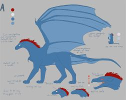 A ref sheet by teh-dino