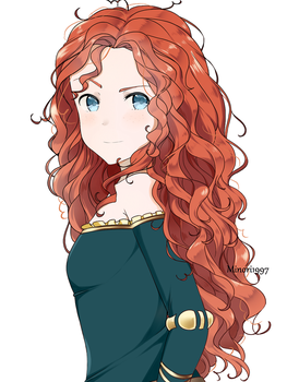 Brave-Merida by Minori1997