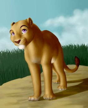lion by 5898laura