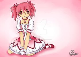 madoka, pretty in pink (UPDATED) by the-hangman-project