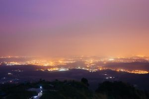 Pitch black Broga hiking by DaphneNg