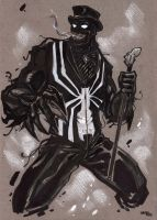 Steampunk Venom sketch by DenisM79