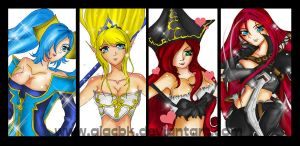LOL Girl group by giacbk