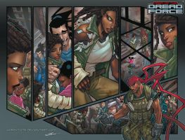 DREAD FORCE ISSUE 2 INTERIORS... by Sandoval-Art