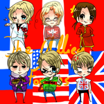 APH: The Allied Forces by Miupoke