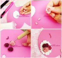 Rococo Roses Broach - Steps part#1 by Fraise-Bonbon