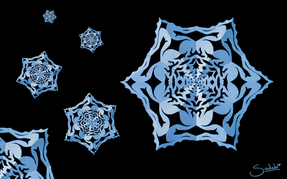 When paper snowflakes fall... by HolographicImaging
