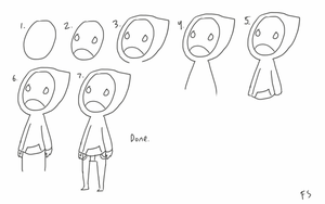 how to draw hoody by FollowingSpirits