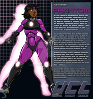 Alexia Ford:Phantom Bio by Dualmask
