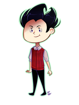 Wilson Chibi by PixelatedFairy