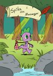 Spike The Messenger #0 colored By VictorVictorovch by mrs1989