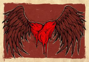 heart with wings by ayillustrations