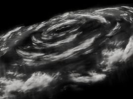 Spiral Clouds Stock by ReyeD33