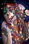 christmas lights. by GoldenSands