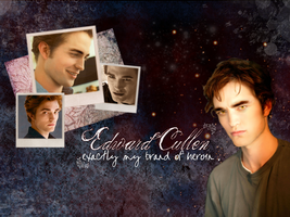 Edward Cullen Wallpaper by englishfreckle