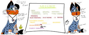 Mhairie Ref by Fangz-Whiskerz