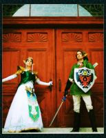 The Legend of Zelda by celticruins