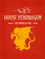 Pendragon sigil by desiredwings