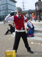 Akihiko Ready For Battle :MCM: by GVGPhotos