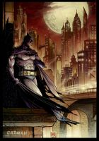 Batman by x-catman