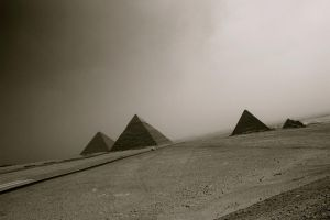 Pyramids of Giza by steph9668