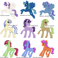 Pony Shipping Adopts by Quillnote