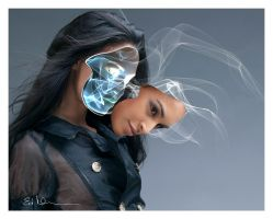 The Fallen Mask by DigiArtBy-Ed-Newsome