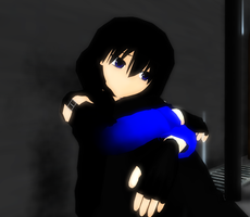 [MMD] Alone in the Rain by khftw