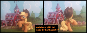 applejack blind bag with hat by balthazar147
