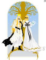Ingwe and Indis by MatsumotoSensei