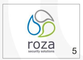 Roza Security Logo 5 by HalitYesil