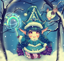 Winter Wonder LuLu by PuffyPrincess