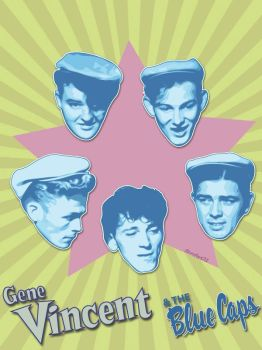 Gene Vincent and The Blue Caps by TAntoine
