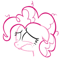 Pinkie Pie - Crying Vector Stylized by ctucks