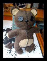Deddybear Plushie by Neverwinterphoenix