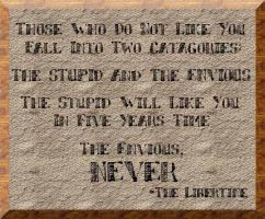 Libertine Quote by southernstingray
