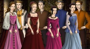Royal Cullen Family by Sunshine-Girl524