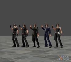 Dissidia Squall Pack by DatKofGuy
