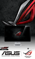 Asus Rog 4k Red by Sc0uT10