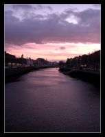 Daybreak on the River Liffey by cynicalreality